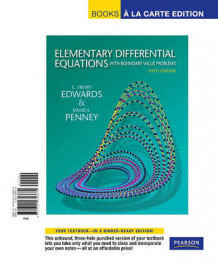 Elementary Differential Equations with Boundary Value Problems, Books a la Carte Edition av C Henry Edwards og David E Penney (Perm)