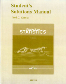 Student Solutions Manual for Elementary Statistics av Neil A. Weiss (Heftet)