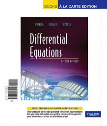Differential Equations, Books a la Carte Edition av John Polking, Al Boggess og David Arnold (Perm)