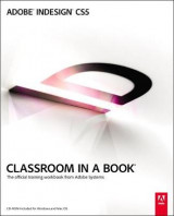 Omslag - Adobe InDesign CS5 Classroom in a Book
