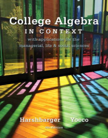 College Algebra in Context av Ronald J. Harshbarger og Lisa S. Yocco (Innbundet)