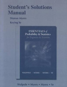 Student Solution's Manual for Essentials Probability & Statistics for Engineers & Scientists av Keying Ye (Heftet)
