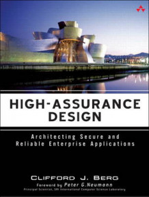 High-Assurance Design av Clifford J. Berg (Heftet)