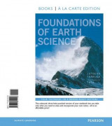 Omslag - Foundations of Earth Science, Books a la Carte Edition