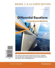 Differential Equations av David E Penney, C Henry Edwards og David Calvis (Perm)