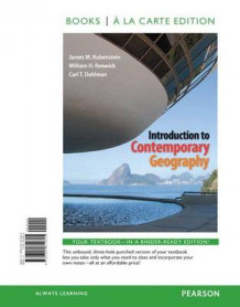 Introduction to Contemporary Geography with Mastering Geography Access Code av James M Rubenstein (Blandet mediaprodukt)