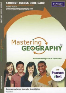 MasteringGeography with Pearson EText -- Standalone Access Card -- for Contemporary Human Geography av James M. Rubenstein (Blandet mediaprodukt)