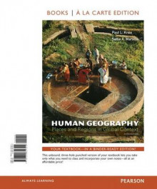 Human Geography with Access Code av Professor Paul L Knox og Dr Sallie A Marston (Perm)