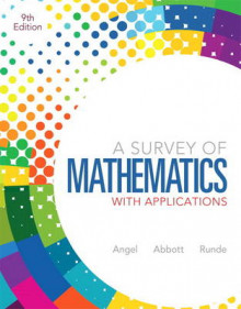 A Survey of Mathematics with Applications Plus New MyMathLab with Pearson eText - Access Card Package av Allen R. Angel, Christine D. Abbott og Dennis C. Runde (Blandet mediaprodukt)
