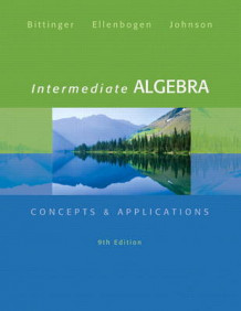 Intermediate Algebra av Marvin L. Bittinger, David J. Ellenbogen og Barbara L. Johnson (Innbundet)