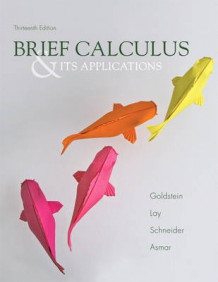 Brief Calculus & Its Applications av Larry Joel Goldstein, David C. Lay, David I. Schneider og Nakhle H. Asmar (Innbundet)