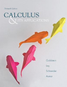 Calculus & Its Applications av Larry Joel Goldstein, David C. Lay, Nakhle H. Asmar og David I. Schneider (Innbundet)