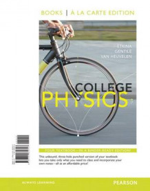 College Physics, Books a la Carte Edition av Eugenia Etkina, Michael Gentile og Alan Van Heuvelen (Perm)