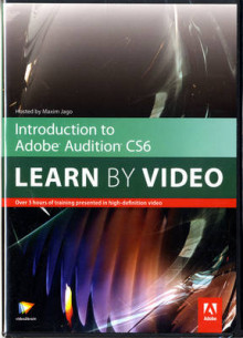Introduction to Adobe Audition CS6 av Video2brain (DVD-ROM)
