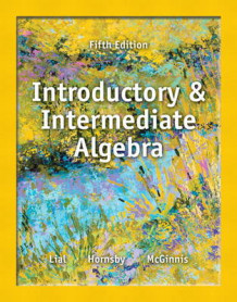 Introductory and Intermediate Algebra Plus MyMathLab -- Access Card Package av Margaret Lial, John Hornsby og Terry McGinnis (Blandet mediaprodukt)