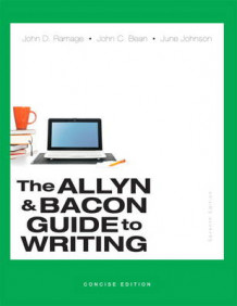 Allyn & Bacon Guide to Writing, The, Concise Edition av John D. Ramage, John C. Bean og June Johnson (Heftet)