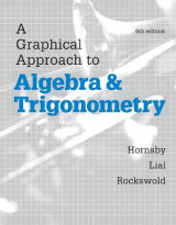Omslag - A Graphical Approach to Algebra and Trigonometry