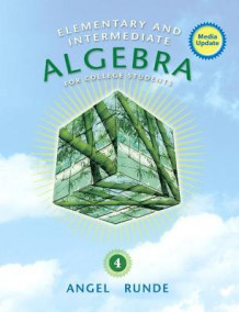 Elementary & Intermediate Algebra for College Students, Media Update av Allen R. Angel og Dennis C. Runde (Innbundet)