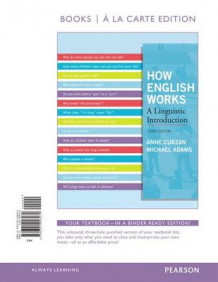 How English Works, Books a la Carte Edition av Anne Curzan og Michael Patrick Adams (Perm)