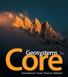 Geosystems Core Plus Masteringgeography with Pearson Etext -- Access Card Package av Robert W Christopherson (Blandet mediaprodukt)