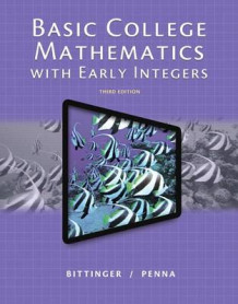 Basic College Mathematics with Early Integers, Plus New Mymathlab with Pearson Etext -- Access Card Package av Marvin L Bittinger (Blandet mediaprodukt)