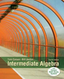 Intermediate Algebra with MyMathLab Access Card Package av Tom Carson og Bill E Jordan (Blandet mediaprodukt)