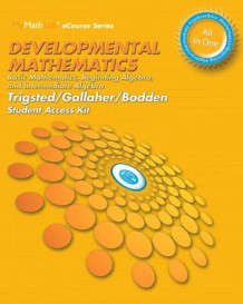 Developmental Mathematics with Mymathlab Access Code av Kirk Trigsted, Kevin Bodden og Randall Gallaher (Blandet mediaprodukt)