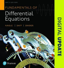 Fundamentals of Differential Equations av R. Kent Nagle, Arthur David Snider og Edward B. Saff (Innbundet)