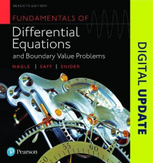 Fundamentals of Differential Equations and Boundary Value Problems av R. Kent Nagle, Arthur David Snider og Edward B. Saff (Innbundet)