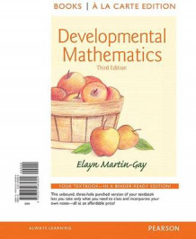 Developmental Mathematics, Books a la Carte Edition av Elayn Martin-Gay (Perm)