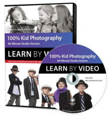 100% Kid Portrait Photography av Allison Tyler Jones (DVD-ROM)