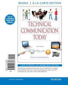 Technical Communication Today, Books a la Carte Edition av Richard Johnson-Sheehan (Perm)