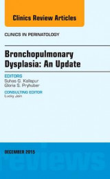 Omslag - Bronchopulmonary Dysplasia: An Update, an Issue of Clinics in Perinatology