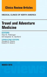 Omslag - Travel and Adventure Medicine, an Issue of Medical Clinics of North America