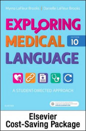 Medical Terminology Online for Exploring Medical Language (Access Code and Textbook Package) av Danielle LaFleur Brooks og Myrna LaFleur Brooks (Heftet)
