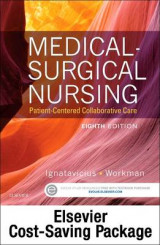 Omslag - Medical-Surgical Nursing - Text and Elsevier Adaptive Quizzing-Nursing Concepts Package