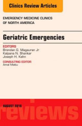 Omslag - Geriatric Emergencies, an Issue of Emergency Medicine Clinics of North America