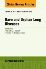 Omslag - Rare and Orphan Lung Diseases, an Issue of Clinics in Chest Medicine