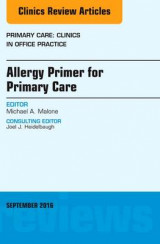 Omslag - Allergy Primer for Primary Care, An Issue of Primary Care: Clinics in Office Practice
