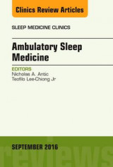 Omslag - Ambulatory Sleep Medicine, an Issue of Sleep Medicine Clinics