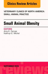 Omslag - Small Animal Obesity, an Issue of Veterinary Clinics of North America: Small Animal Practice