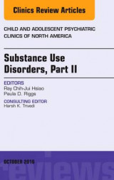 Omslag - Substance Use Disorders: An Issue of Child and Adolescent Psychiatric Clinics of North America Part II