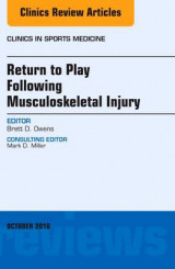 Omslag - Return to Play Following Musculoskeletal Injury, an Issue of Clinics in Sports Medicine