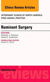 Omslag - Ruminant Surgery, an Issue of Veterinary Clinics of North America: Food Animal Practice