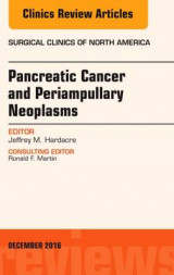 Omslag - Pancreatic Cancer and Periampullary Neoplasms, an Issue of Surgical Clinics of North America