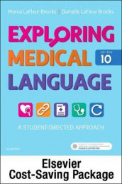 Exploring Medical Language - Text and Elsevier Adaptive Learning Package av Danielle LaFleur Brooks og Myrna LaFleur Brooks (Heftet)