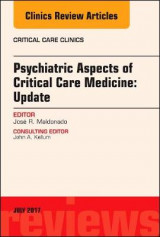 Omslag - Psychiatric Aspects of Critical Care Medicine, An Issue of Critical Care Clinics