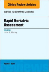 Omslag - Rapid Geriatric Assessment, An Issue of Clinics in Geriatric Medicine