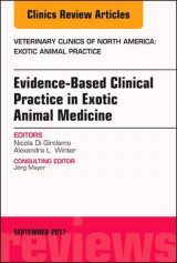 Omslag - Evidence-Based Clinical Practice in Exotic Animal Medicine, An Issue of Veterinary Clinics of North America: Exotic Animal Practice