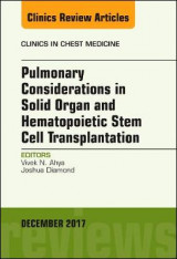 Omslag - Pulmonary Considerations in Solid Organ and Hematopoietic Stem Cell Transplantation, An Issue of Clinics in Chest Medicine